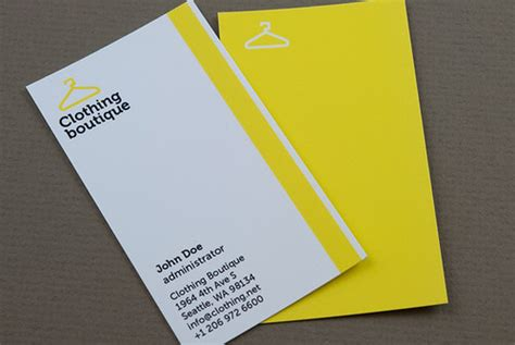 clothing boutique business card clothing boutique