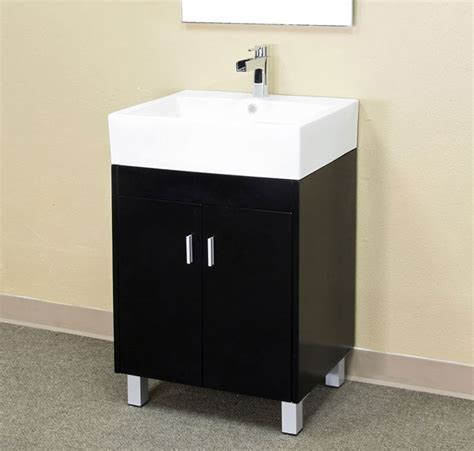 22 inch vanity with sink 22 8 inch contemporary single sink vanity by bellaterra