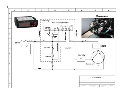 Freezer Thermostat Wire Diagram 4 by Kegerator Thermostat Wiring Diagram Wiring Library