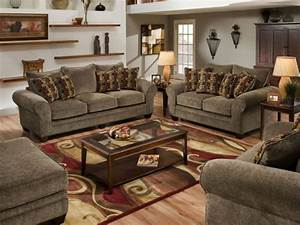 American made living room furniture decor information for American home life furniture