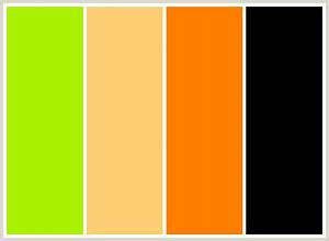 Orange Green Color Palette | www.pixshark.com - Images ...
