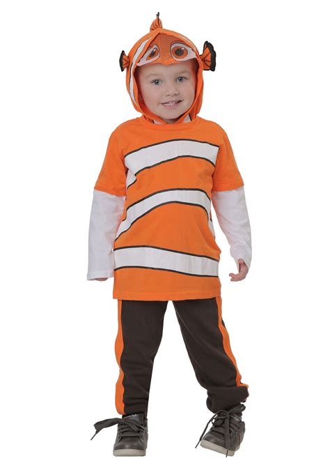 Finding Dory Nemo Jersey Hooded Top & Fleece Pants for ...