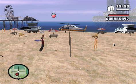 Sa Volleyball For Gta San Andreas