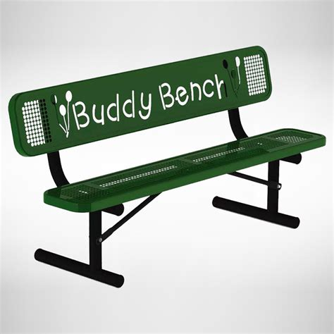 Buddy Bench by Buddy Bench Outdoor School Benches Playground Benches
