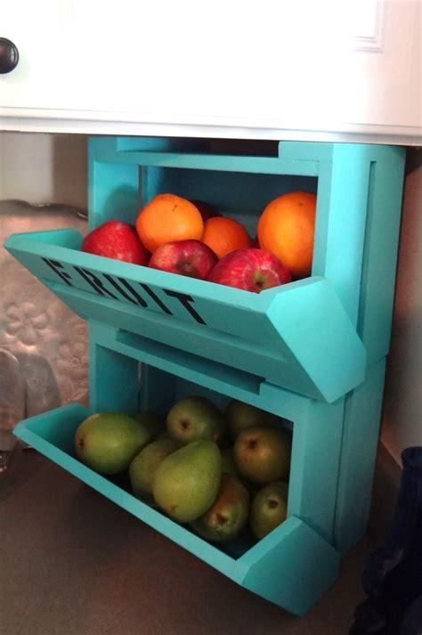 kitchen fruit storage easy kitchen storage solutions using your backsplash 1745