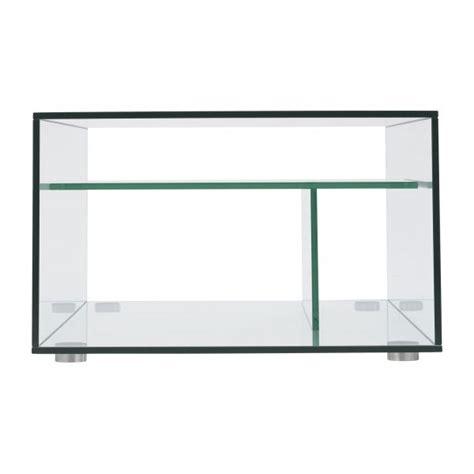 Gem Tables Basses Transparent Verre Métal Habitat