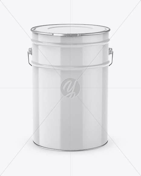 Free psd shows of 20l tin paint bucket mockup. 20L Glossy Paint Bucket Mockup in Bucket & Pail Mockups on ...