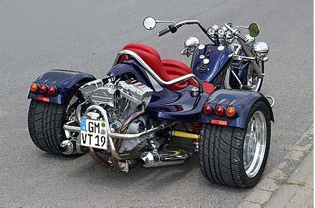 trikes motos de tres ruedas
