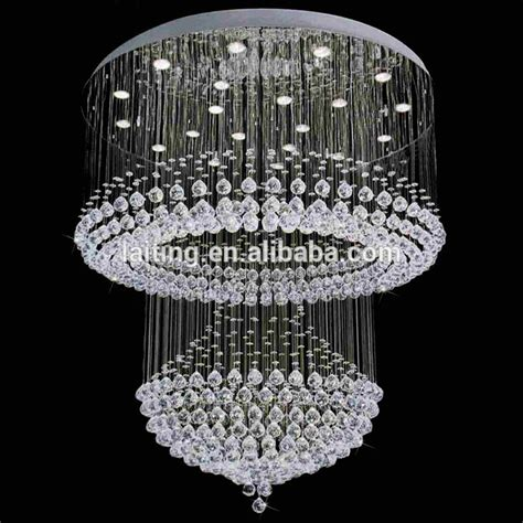 modern chandelier for high ceilings niche modern