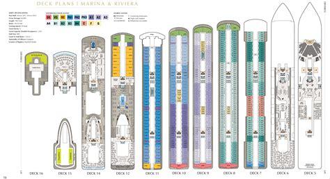 rhapsody of the seas deck plans 2015 cruceros el ms marina va de barcos