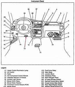 Schematics And Diagrams  2002 Chevy Tracker  Obd Tool Connector Location