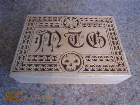 Mtg Commander Deck Box by Magic The Gathering Commander Deck Box By