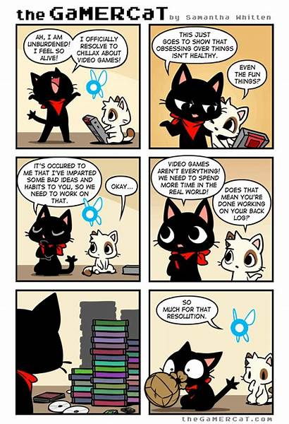 Funny Gamercat Cat Gamer Comics Tapastic Memes