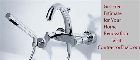 bathroom fittings used in indian bathrooms contractorbhai