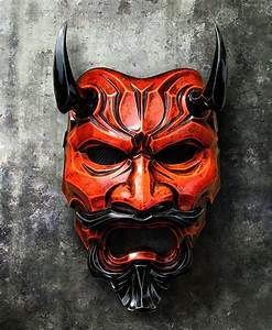 Uncle Oni Mask 315 - Japanese Noh Style Fiberglass Art ...