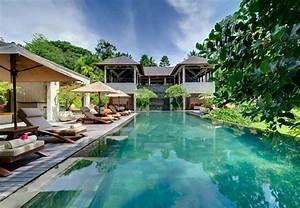 bali les jardins paradisiaques des villas de vacances With attractive jardin et piscine design 13 belle maison de grand standing au magnifique jardin