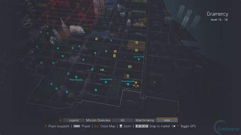 division gramercy intel collectible location guide