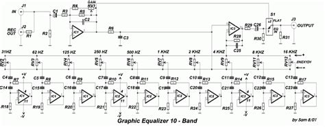 Graphic Equalizer With Bands Frequency Eeweb Community