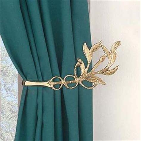 gold leaf curtain holdback search curtain