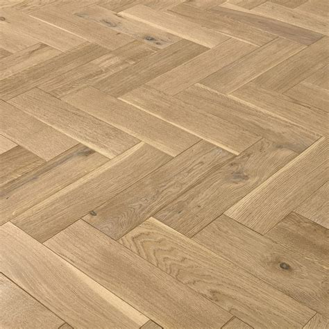 luxury whitewashed parquet oak solid wood flooring