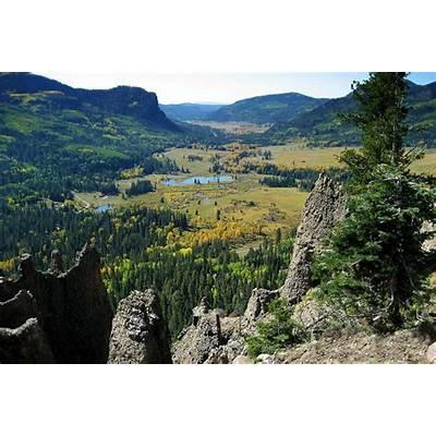 Panoramio - Photo of Wolf Creek Pass overlook