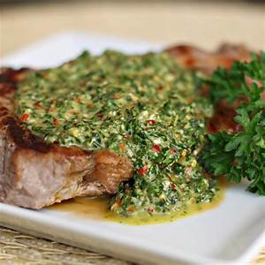 Recipe Chimichurri - Argentinean Green Sauce | Ancient ...