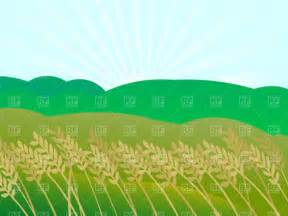 Wheatfield Clip Art