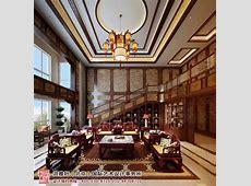 复式住宅古典中式装修风格—浑厚干练 澄净璀璨