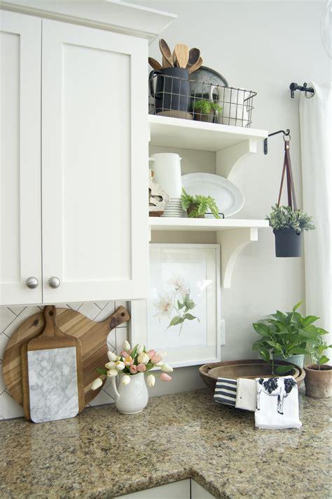 spring kitchen decor easy ways  beautify  kitchen  spring grace   space