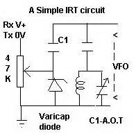 a simple irt With simple vfo circuit