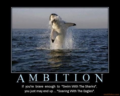 make yourself the life you deserve.: Ambition never comes ...