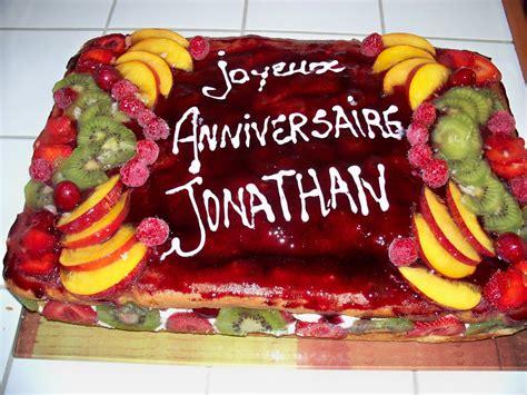 recette de cuisine pour anniversaire anniversaire24 gateau d anniversaire aux fruits
