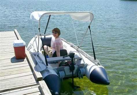 Canoes With Electric Motors by Portable 55lbs Electric Trolling Motor For Kayak