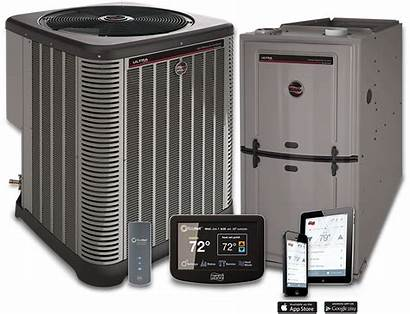 Furnace Heating Rudd Units Air Select Central