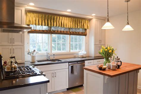Modern Kitchen Window Treatments 2013  Valance Curtains