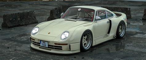 Widebody Porsche 959 Rendering Looks Like the RWB Supercar ...