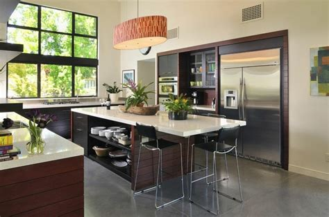 cuisine design surface cuisines design avec îlot central en 51 idées