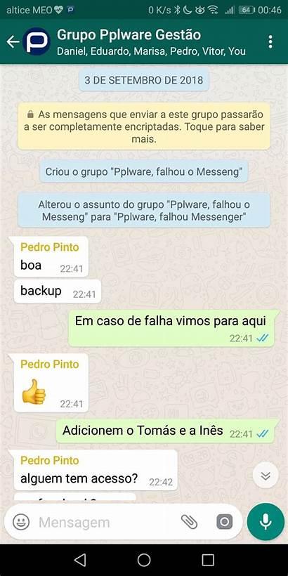 Whatsapp Grupo Link Um Convidar Convite Pplware