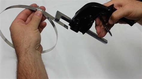 pusher bar tensioner  insulation strapping youtube