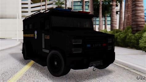 gta  enforcer raccoon city police type   gta san andreas
