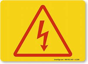 Electrical Utility Warning Signs - MySafetySign.com