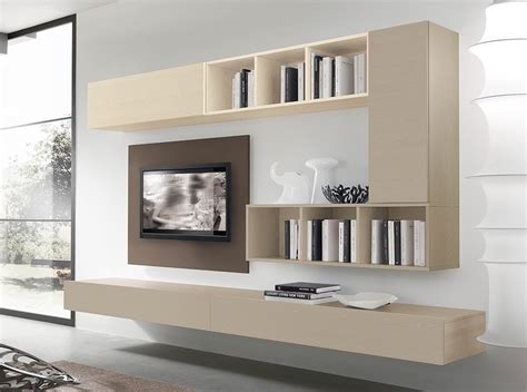 Contemporary Wall Unit Vv 3933
