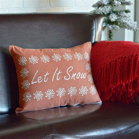 Snow Pillows by Let It Snow Pillow Lange General Store