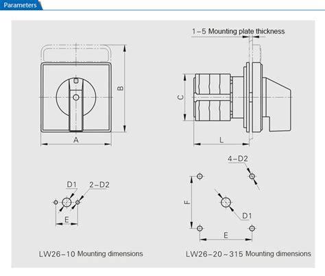 Dimension Wiring Diagram by Generator Automatic Transfer Switch Wiring Diagram Lw26 20