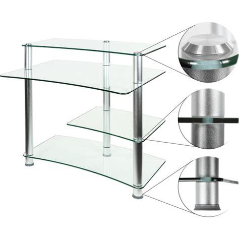 verre pour bureau bureau pour ordinateur en verre clair