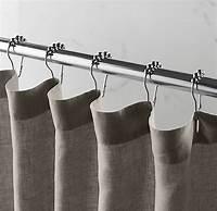 restoration hardware shower curtain Stonewashed Belgian Linen Shower Curtain