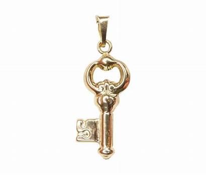 Sleutel Gouden Hanger Karaats