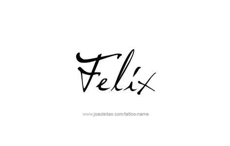 felix  tattoo designs
