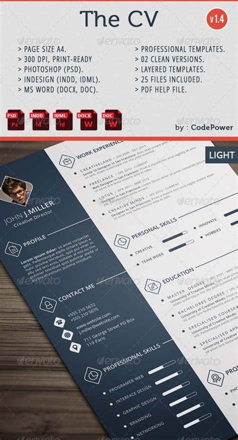 stationery design graphicriver the cv graphicflux