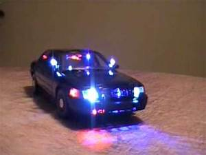 Picture Of Police Car With Lights 1 18 Very Rare Police Undercover Fbi Working Lights Youtube